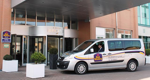 Shuttle service-Best Western Hotel Le Favaglie Cornaredo offers free transfer to subway and Pero-Rho Exhibition Centre