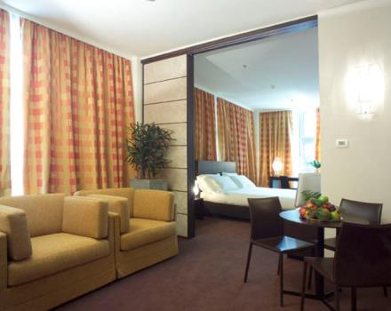 Discover the comfortable rooms at the Best Western Hotel Le Favaglie in Cornaredo